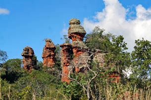 Tour 12 - High plateau, snorkeling in the crystal clear river and Pantanal
